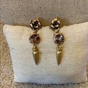 Stella & Dot Cheryl Drop Earrings